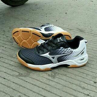 Jual Sepatu mizuno wave rider buat voli badminton tenis pingpong dan ... 3c15352b70