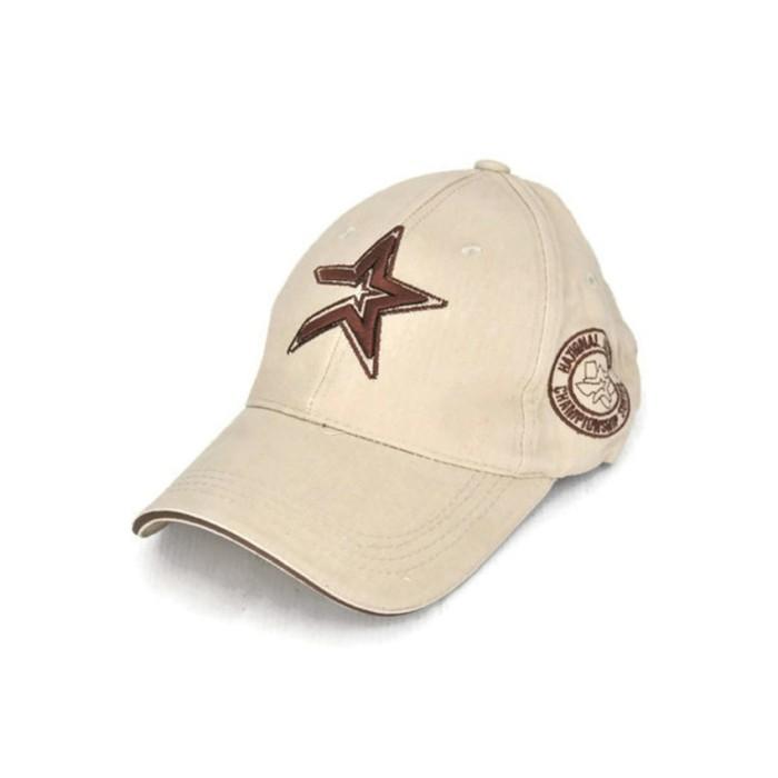 Topi Pria Ormano Baseball Snapback Korean Style P-Star Cap - Coklat Mu