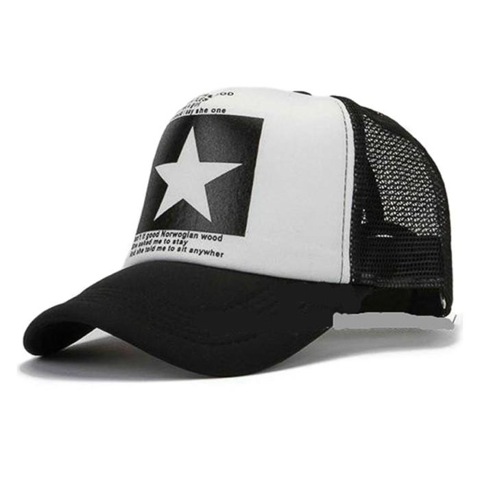 Jual Topi Pria Ormano Baseball Snapback Cap Hip Hop One Star Beatles ... 380a5005c0