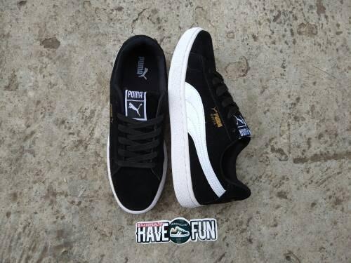Jual Sepatu Puma Suede Classic Black White PREMIUM IMPORT - HAVEFUN ... f4e88edb59