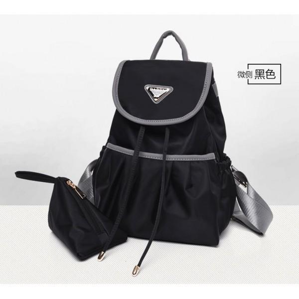 harga Tas ransel pouch dompet hitam longchamp parasut waterproof impor cewek Tokopedia.com