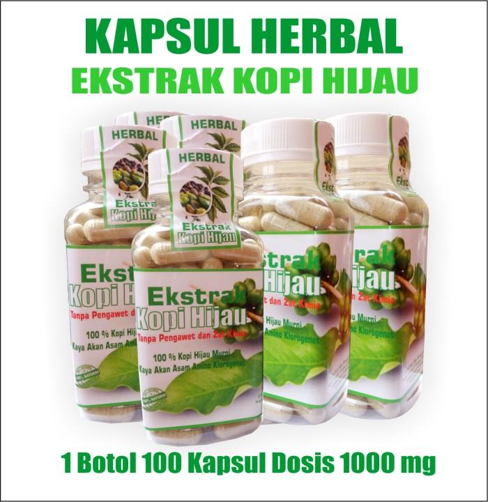 Diet Pelangsing Ekstrak Kopi Hijau - Fat Burner Slimming Green Coffe