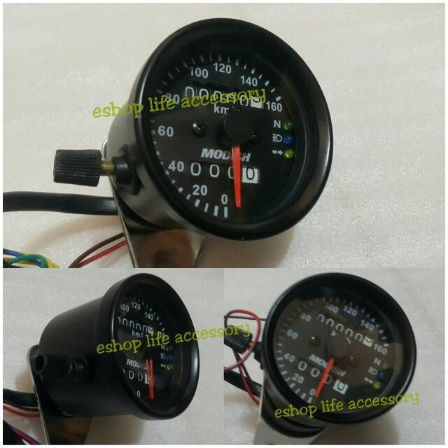 harga Kilometer/speedometer+odometer+tripmeter motor universal modifikasi Tokopedia.com
