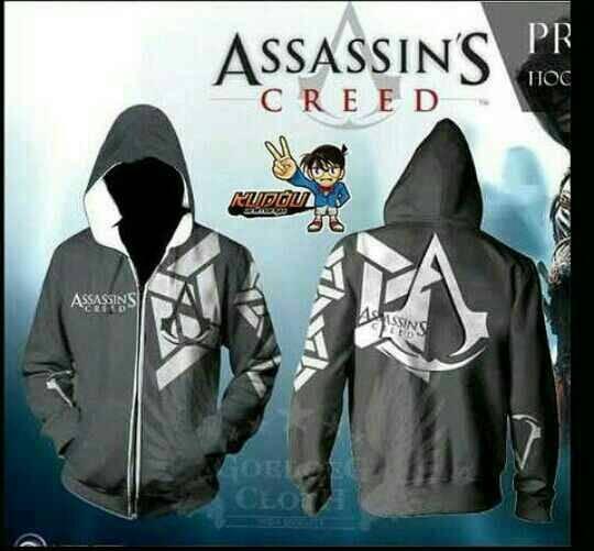harga Jaket animasi /anime assassins creed grey Tokopedia.com
