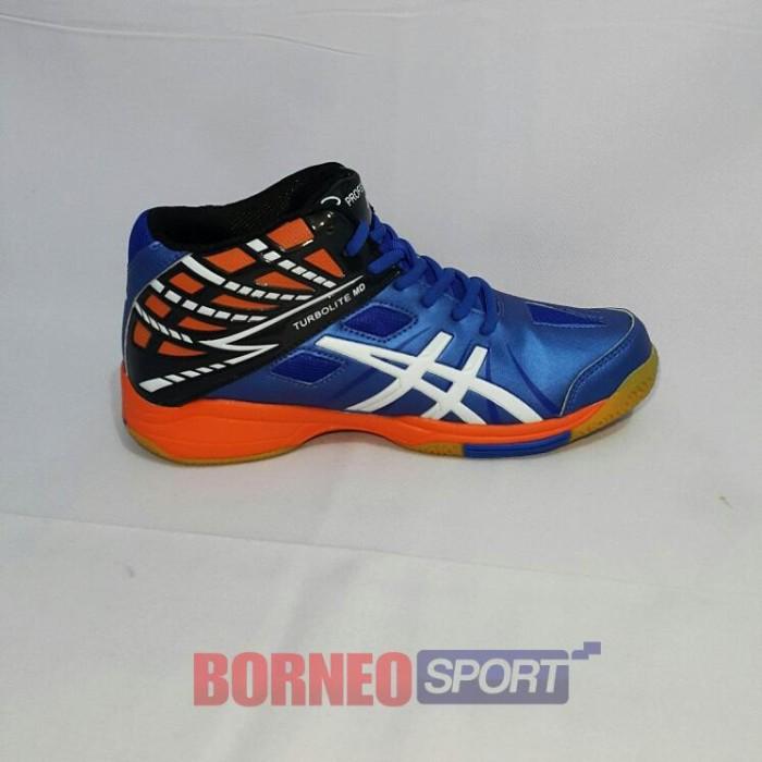 Jual SEPATU VOLLY - PROFESIONAL TURBOLITE MID - Borneo Sport  01f5db9bb1