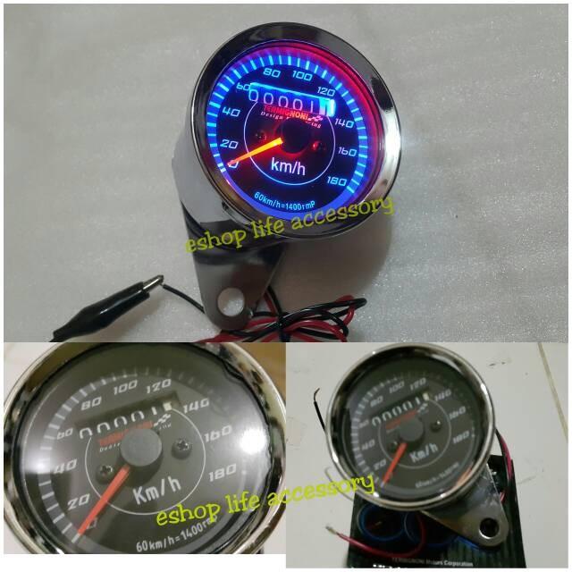 harga Speedometer +kilometer/odometer universal termignoni tmg modifikasi Tokopedia.com