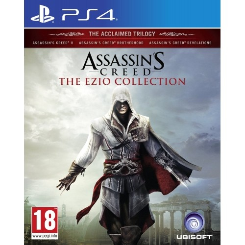 Jual Kaset Ps4 Assassins Creed The Ezio Collection Kota Medan