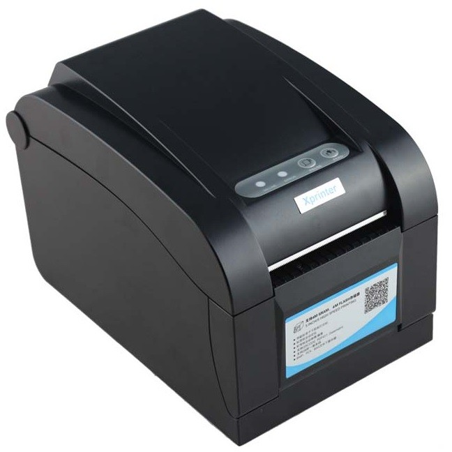 harga Xprinter thermal barcode printer - xp-350b - black Tokopedia.com