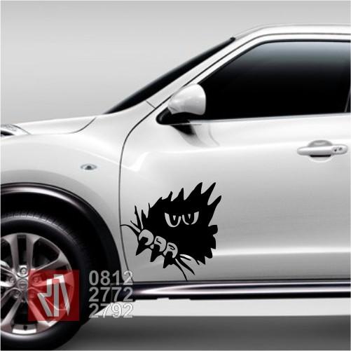 54 Gambar Stiker Kartun Untuk Mobil Gratis Terbaik