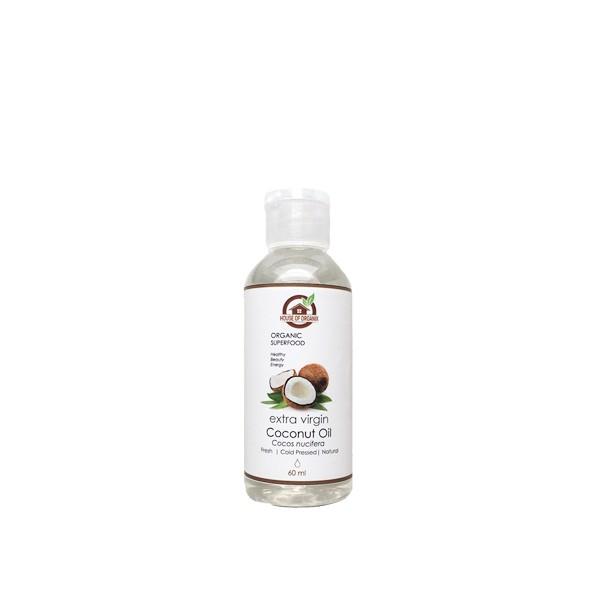 HouseOfOrganix Extra Virgin Coconut Oil - 60 Ml