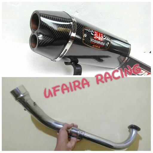 Knalpot racing yoshimura r77 for yamaha n max
