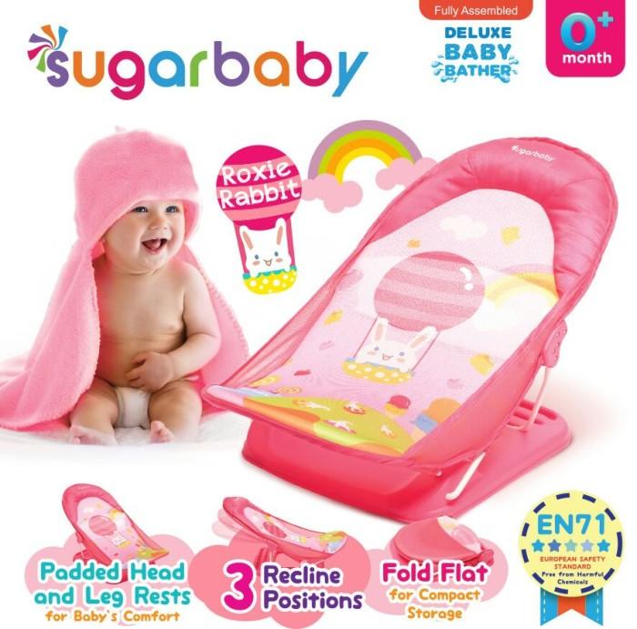 Foto Produk Sugar Baby Deluxe Baby Bather - Roxie Rabbit dari Chevy Baby Shop