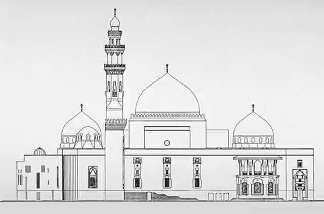 100  Gambar Masjid Sketsa Terlihat Cantik