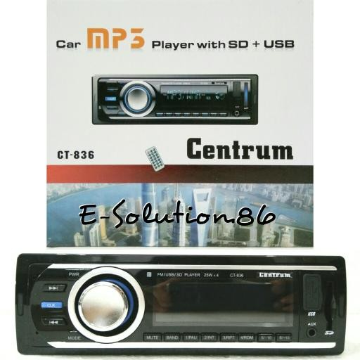 harga Head unit / single din centrum ct-836 tape mobil car mp3 player andri Tokopedia.com