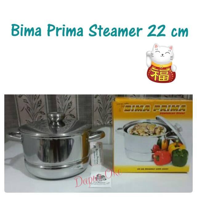 harga Bima Prima Steamer 22 Cm / Langseng / Panci Kukus Tokopedia.com
