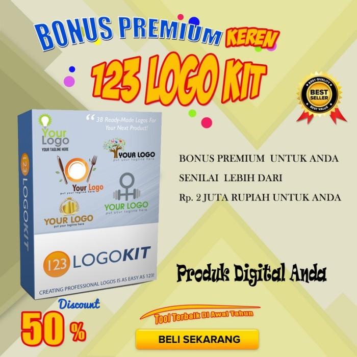 Jual 123 Logo KIT | Peluang Bisnis | Bisnis Online PLR ...