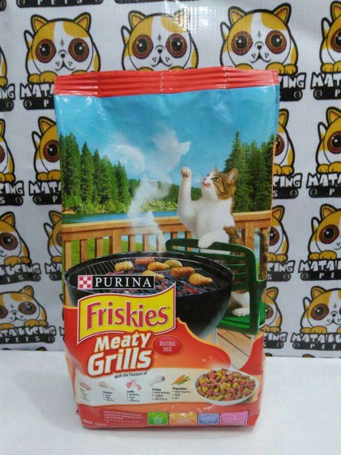 Makanan Kucing Dewasa Friskies Meaty Grills 450gr