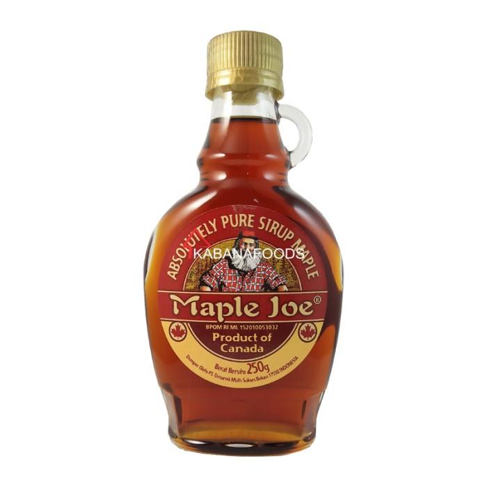 harga Sirup mapel murni maple joe maple syrup 250g Tokopedia.com