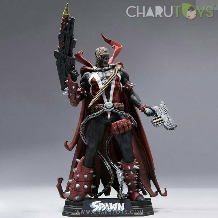 Foto Produk Spawn Rebirth Unmasked Exclusive dari Charu Toys