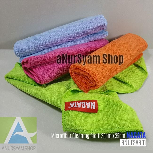 Kain Lap Microfiber / Microfiber Cleaning Cloth 35cm x 35cm