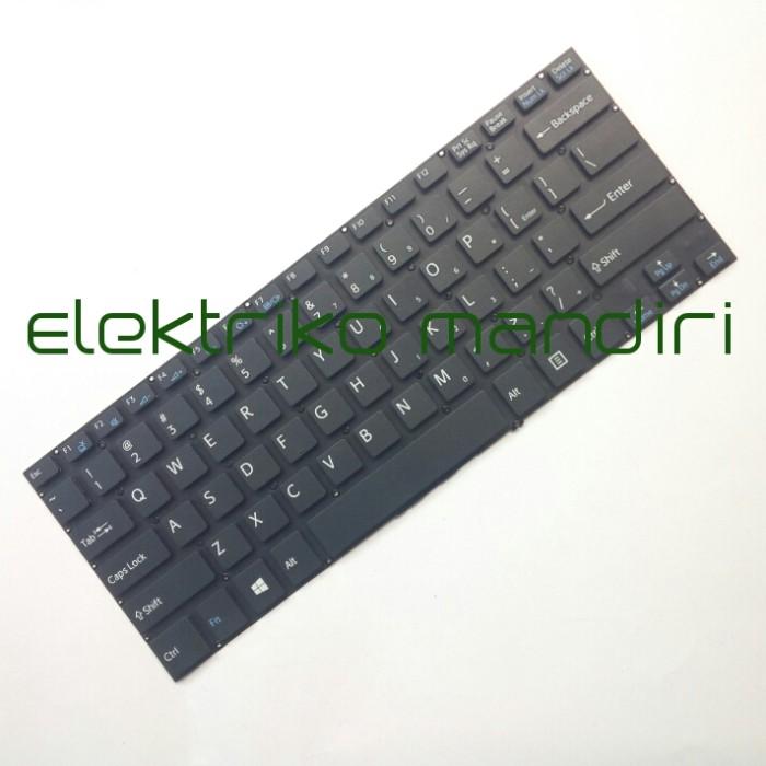harga Keyboard sony vaio svf14 svf14e svf14a vf142 svf142 vf143 svf144 hitam Tokopedia.com