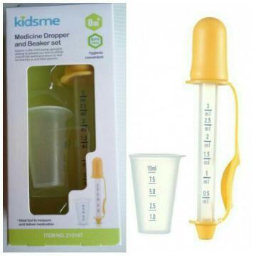 Kidsme Medicine Dropper and Beaker - Alat Bantu Minum Obat Bayi