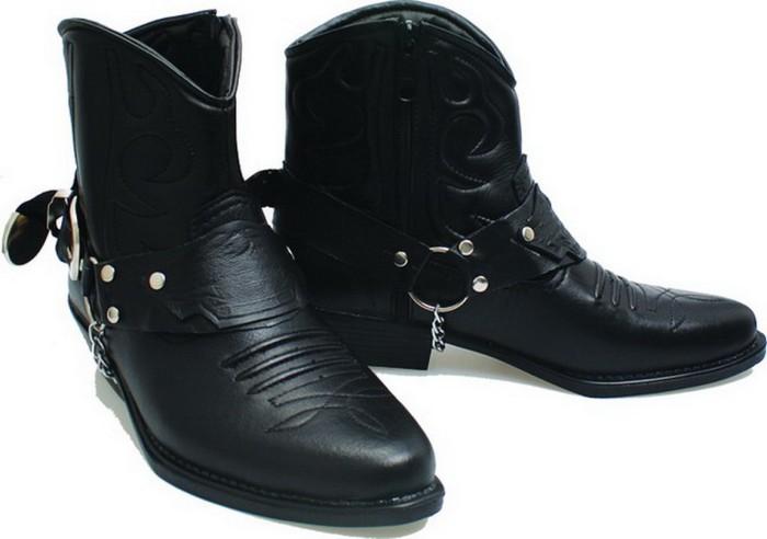 harga Sepatu boot casual touring bikers | sepatu cowboy pria kulit b189 Tokopedia.com