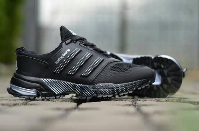 98dfe5cedc7d Jual sepatu sport pria running adidas springblade marathon h Murah ...