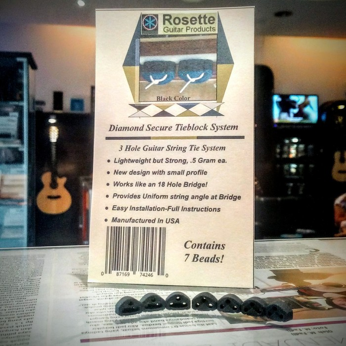 harga Rossette diamond secure string ties / tieblock system Tokopedia.com