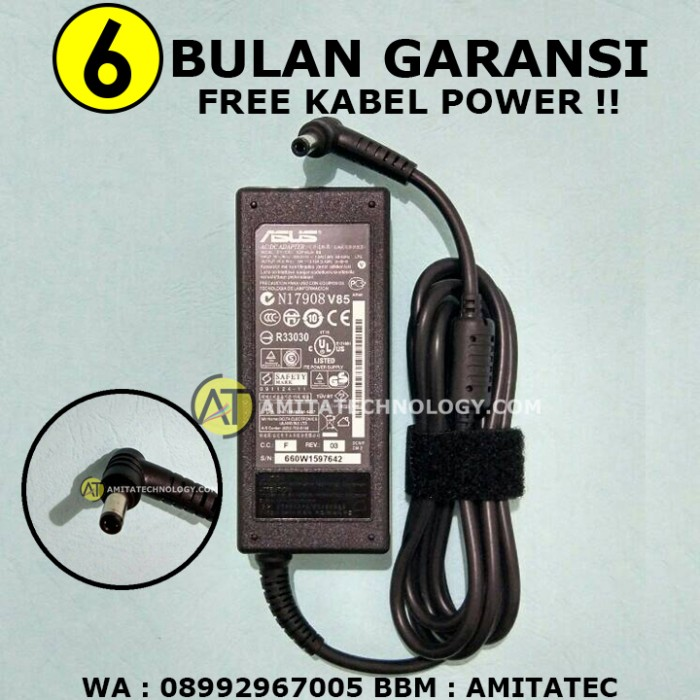 harga Adaptor charger original asus 19v 3.42a Tokopedia.com