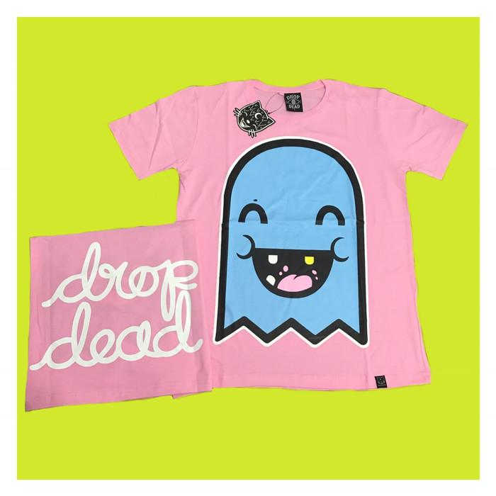 harga Tshirt / kaos dropdead ghost pink(premium edition) Tokopedia.com