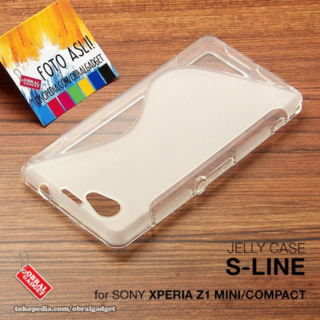 brand new 302bc 813fb Jual Sony Xperia Z1 Mini Compact Soft Jelly Silicon Casing Case Softcase -  Jakarta Barat - Obral Gadget | Tokopedia