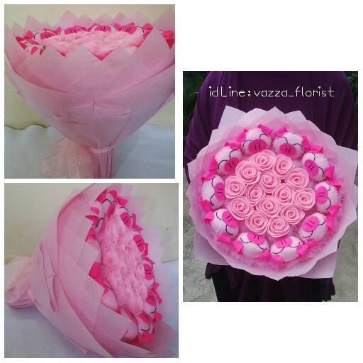 Info Buket Bunga Mawar Flanel DaftarHarga.Pw