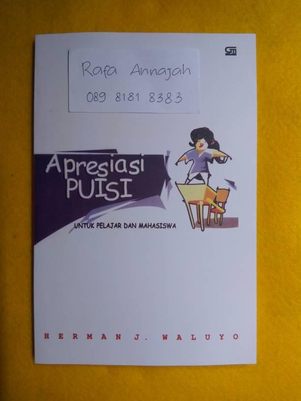 harga Apresiasi puisi untuk pelajar dan mahasiswa - herman j. waluyo Tokopedia.com