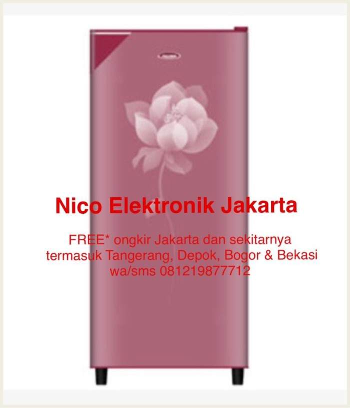 harga Free ongkir* lemari es polytron kulkas 1 pintu prn 160rc Tokopedia.com