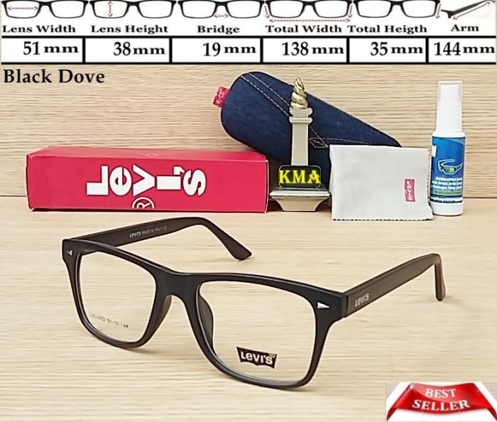 frame kacamata lensa minus levis kacamata levis frame levis kotak new 0ec2c73f0e