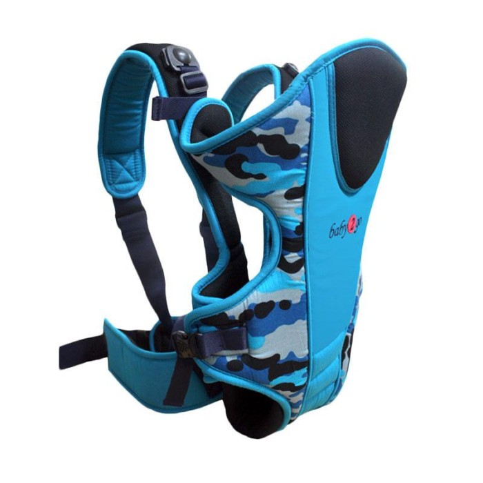 Jual Gendongan Baby Scots Carrier Baby 2 Go Army 08 Blue - arya ... f96a8c0490