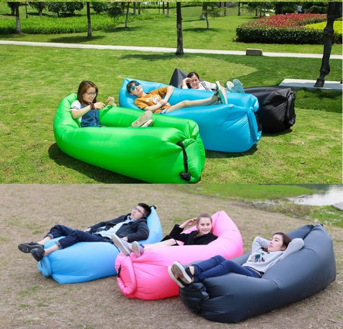 harga Sofa angin air sofa bed lipat travel kantong udara santai inflatable p Tokopedia.com