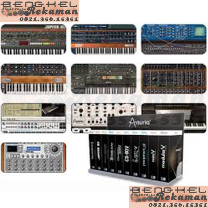 harga Mac osx synthesizer arturia waves complete rob papen lennar sylenth Tokopedia.com