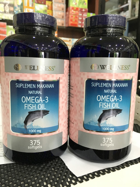 harga Wellness omega 3 fish oil isi 375 softgel Tokopedia.com