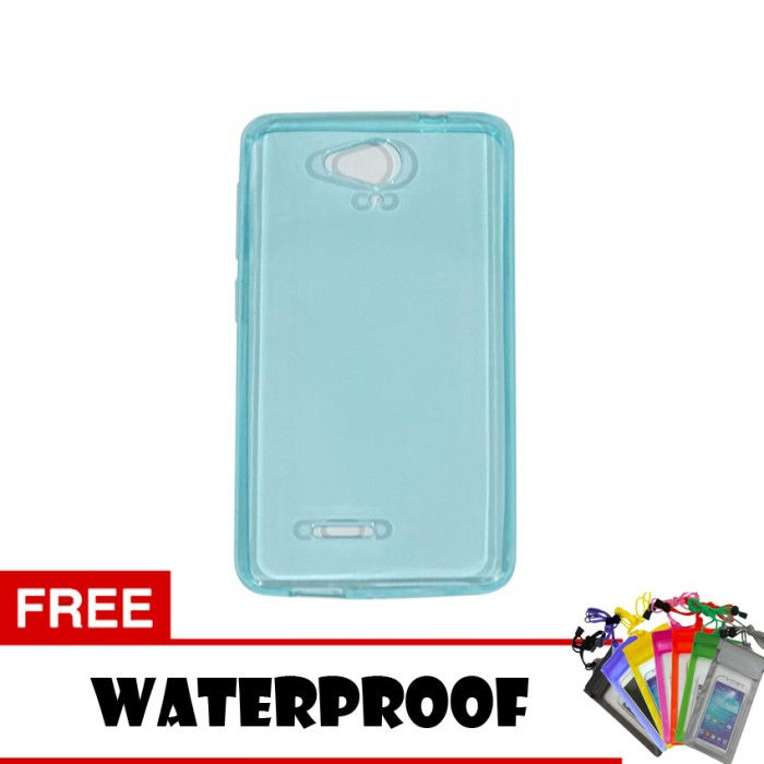 Softcase Ultrathin For Smartfren Andromax E2 Plus Aircase + Waterproof