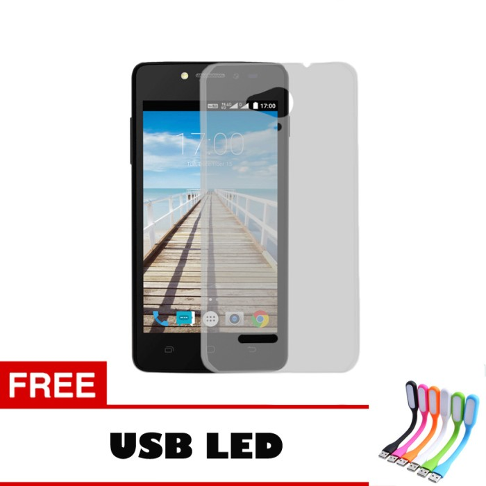Softcase Ultrathin For Smartfren Andromax E2 Plus Aircase USB LED .