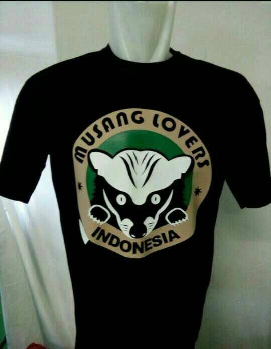 harga Tshirt/baju/kaos musang lovers indonesia Tokopedia.com