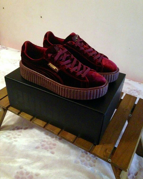 efee11d5e07 Jual PREMIUM Puma Fenty Creeper X Rihanna Red Velvet - Ready For ...