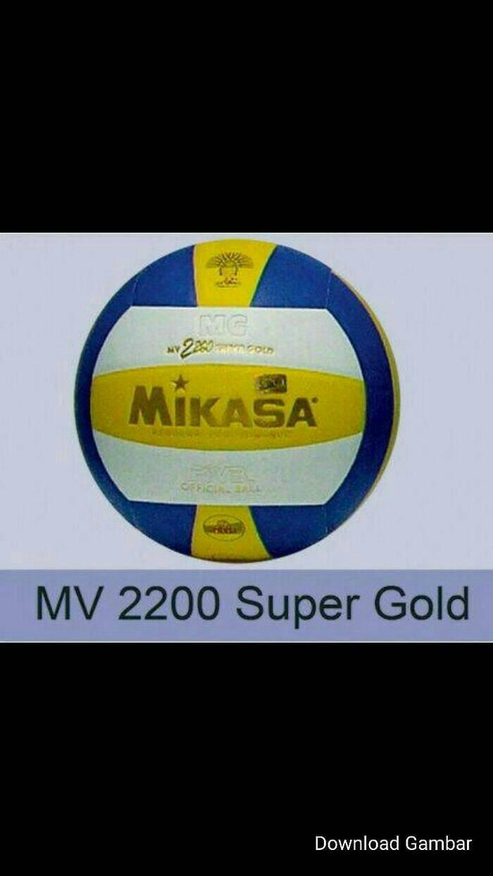Jual BOLA VOLI MIKASA 2200 SUPER GOLD ORIGINAL Jakarta Barat Ulfin Olshop