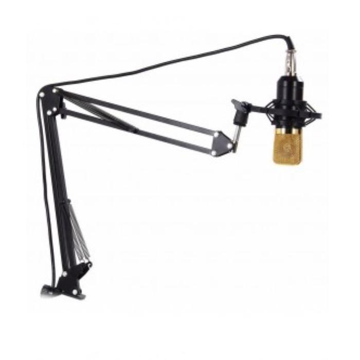 harga Arm stand suspensi mikrofon - black Tokopedia.com