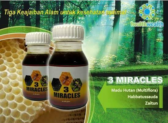 3 MIRACLES HWI - Tiga Keajaiban Alam