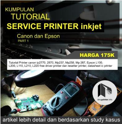 harga Tutorial perbaikan printer inkjet Tokopedia.com