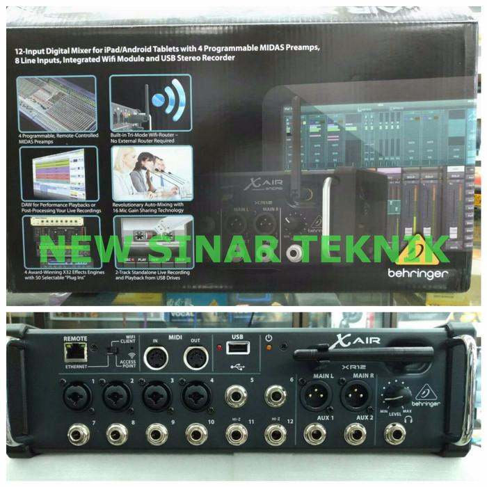 harga Behringer x air xr12 xr 12 mixer digital wireless via ipad / android Tokopedia.com