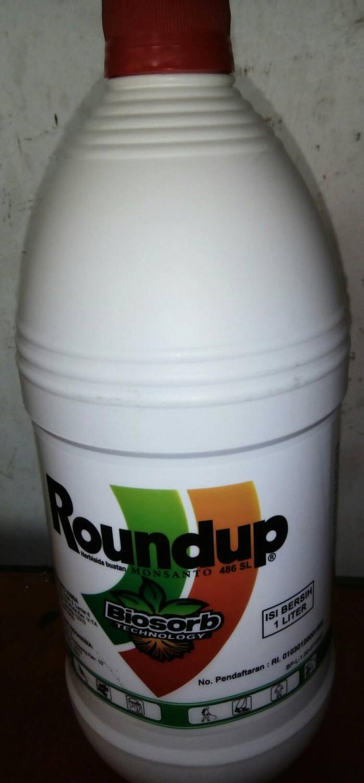 Jual Roundup Pembasmi Rumput Liar Pekebunan Toko Biah Tokopedia Gulma 486 Sl Herbisida